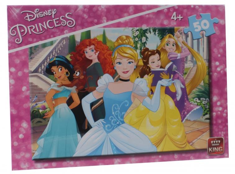 King legpuzzel Disney Princess 50 stukjes
