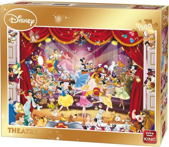 King legpuzzel Disney Theater 1500 stukjes