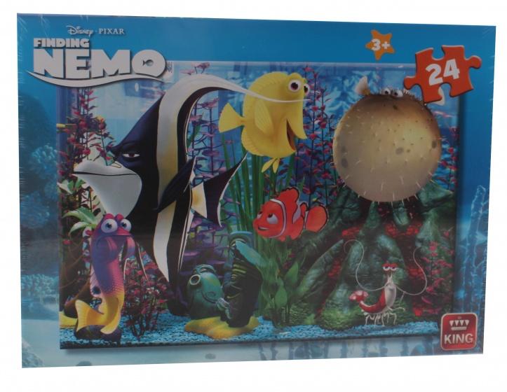 King legpuzzel Finding Nemo 24 stukjes