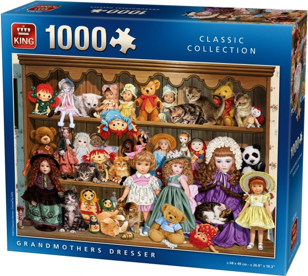 King legpuzzel Grandmothers Dresser 1000 stukjes