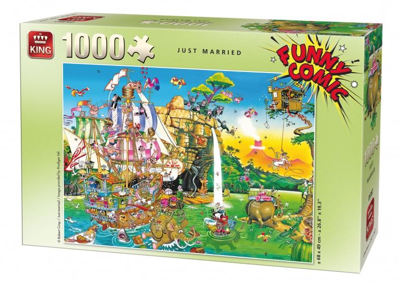 King legpuzzel Just Married 1000 stukjes