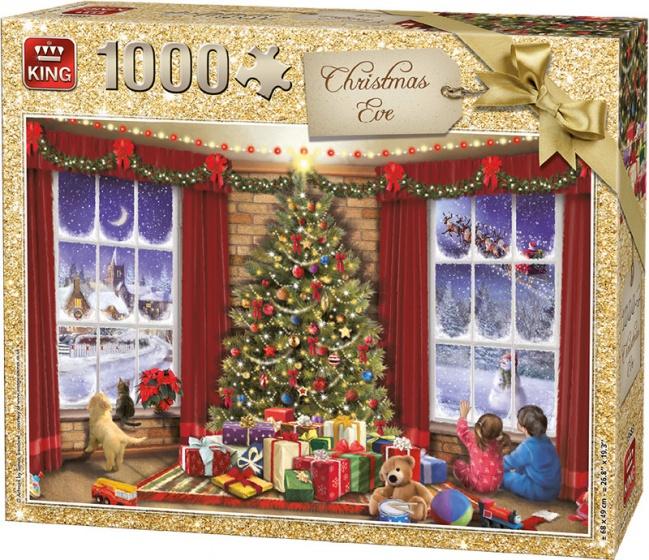 King legpuzzel Kerstmis 1000 stukjes