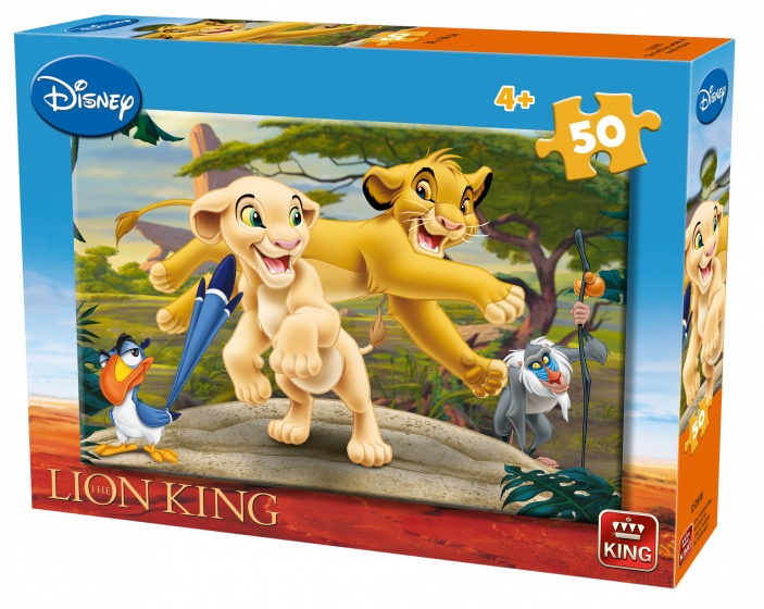 King legpuzzel Lion King Nala & Simba 50 stuks 30 x 20 cm
