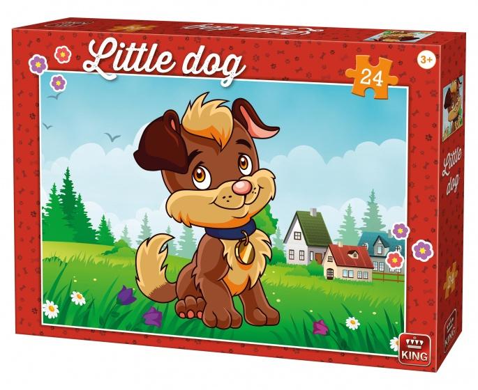 King legpuzzel Little Dog in The Garden 24 stuks