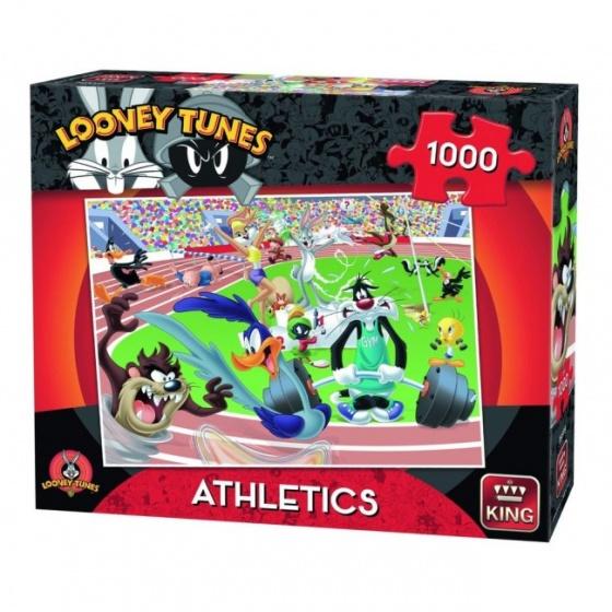 King legpuzzel Looney Tunes Athletics 1000 stukjes