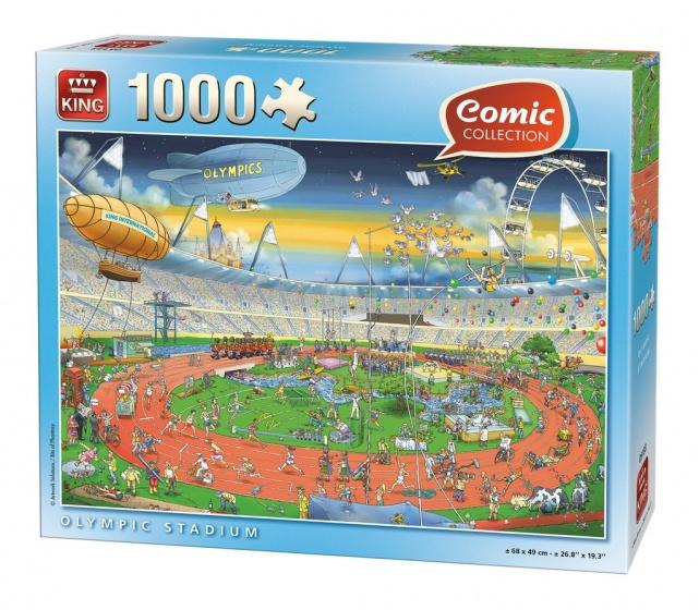 King legpuzzel Olympic Stadium 1000 stukjes