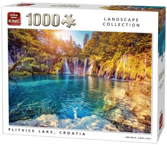 King legpuzzel Plitvice Lake 1000 stukjes