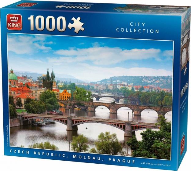 King legpuzzel Prague 1000 stukjes