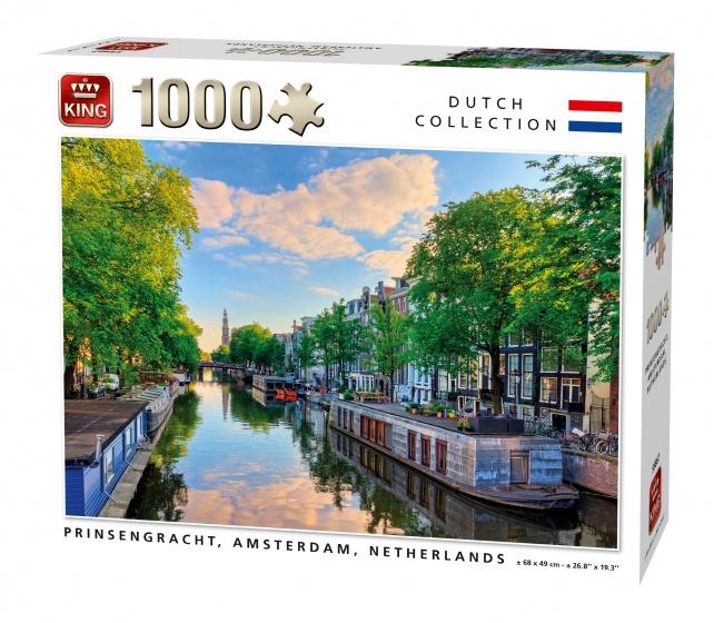 King Legpuzzel Prinsengracht Amsterdam 1000 Stukjes
