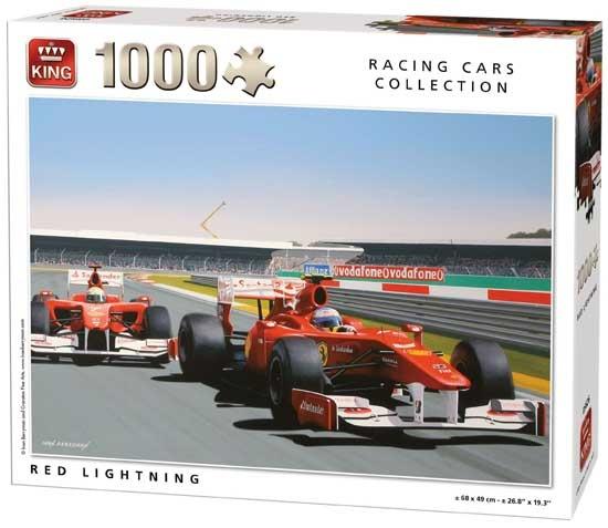 King legpuzzel Red Lightning 1000 stukjes