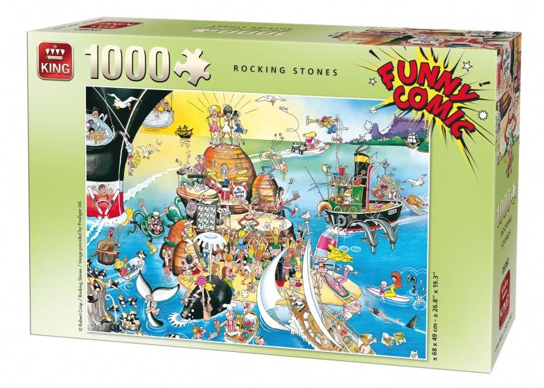 King legpuzzel Rocking Stones 1000 stukjes