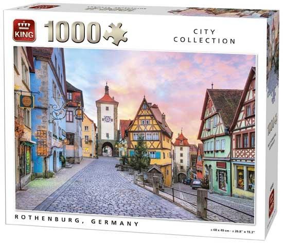 King legpuzzel Rothenburg, Germany 1000 stukjes