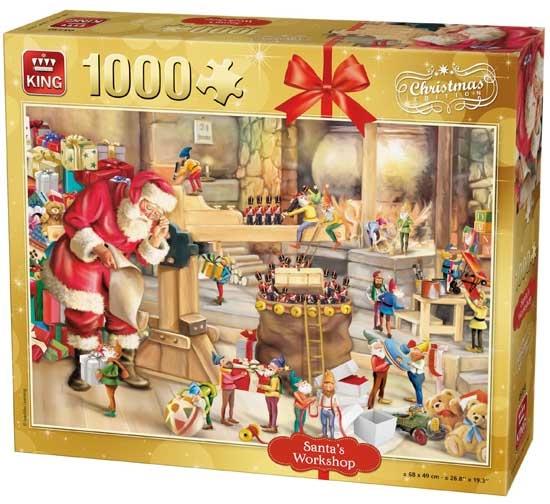 King legpuzzel Santa's Workshop 1000 stukjes