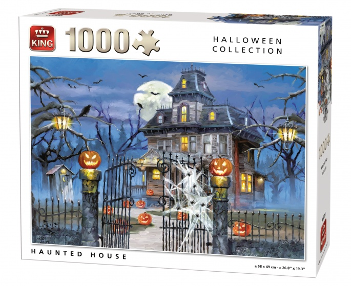 King legpuzzel spookhuis 1000 stukjes