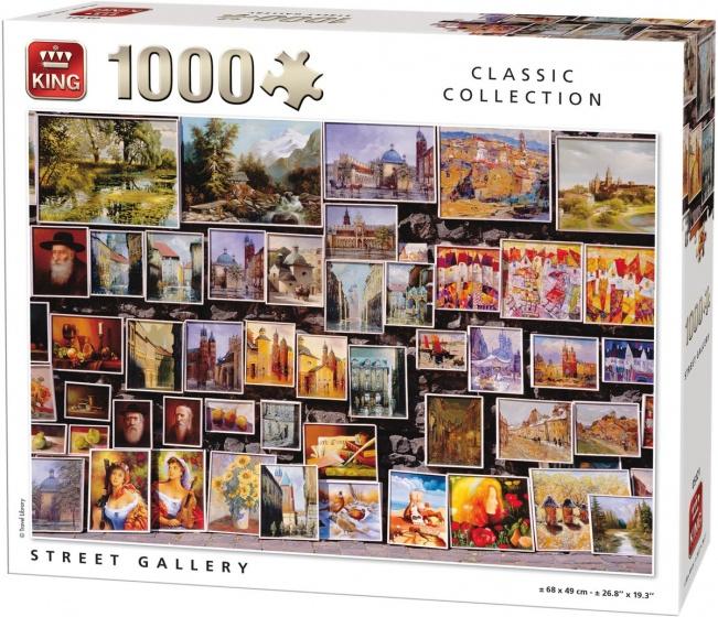 King legpuzzel Street Gallery 1000 stukjes