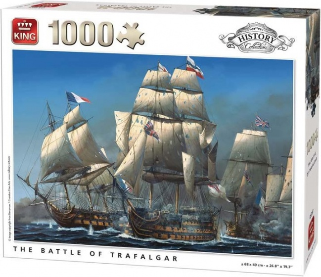 King legpuzzel The Battle Of Trafalgar 1000 stukjes