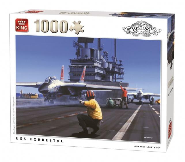 King legpuzzel USS Forrestal 1000 stukjes