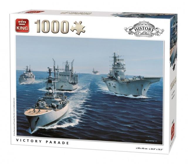 King legpuzzel Victory Parade 1000 stukjes