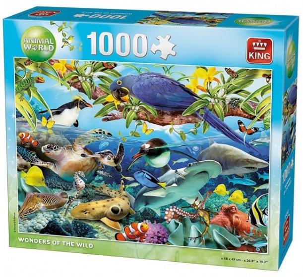King legpuzzel Wonders Of The Wild 1000 stukjes