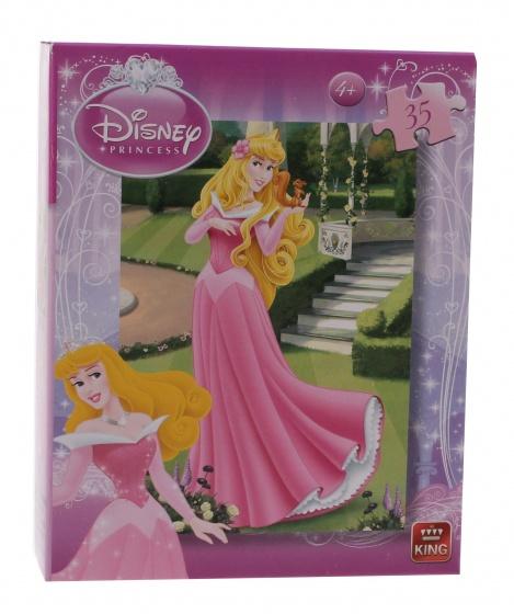 King mini legpuzzel Disney Princess Doornroosje 35 stukjes