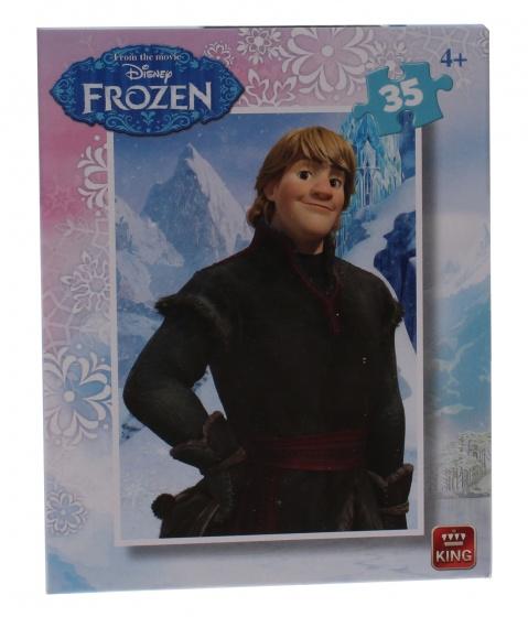 King mini legpuzzel Frozen Kristoff 35 stukjes