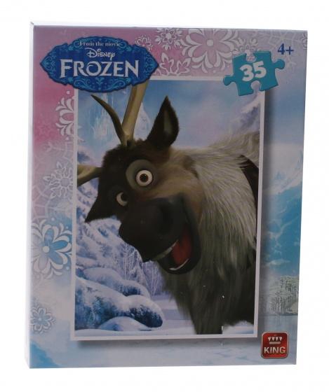King mini legpuzzel Frozen Sven 35 stukjes