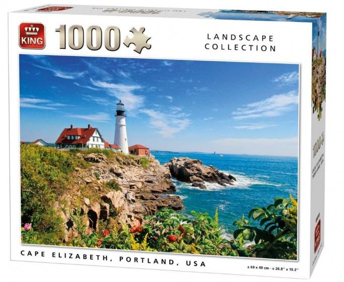King Puzzel Cape Elizabeth Portland USA 1000 stukjes