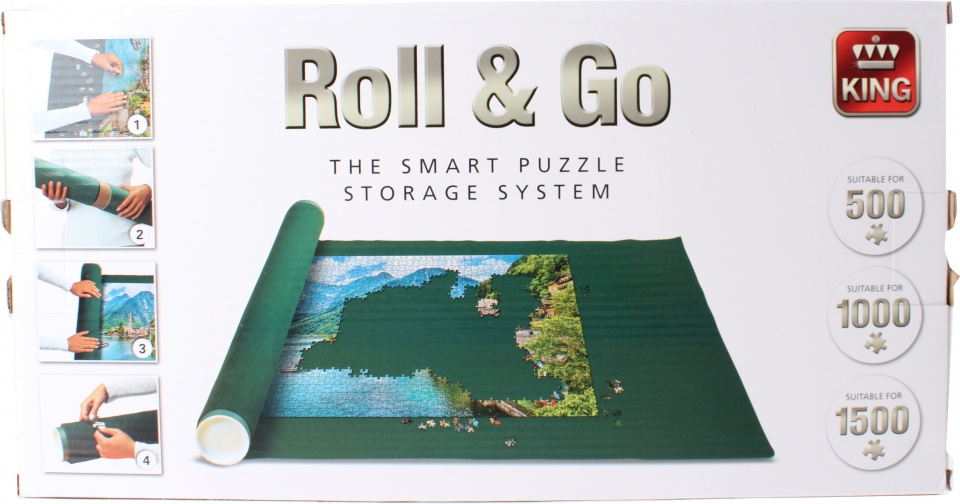 King puzzelmat Roll & Go 500 1500 stukjes