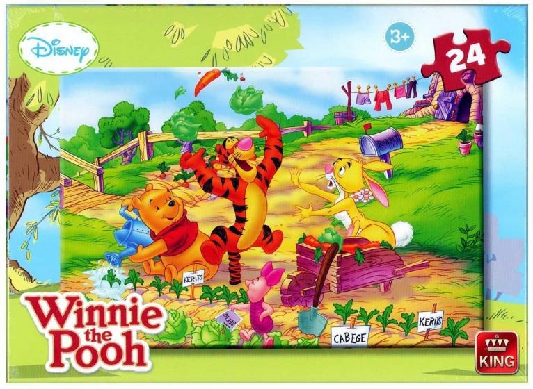 King Winnie the Pooh legpuzzel 24 stukjes