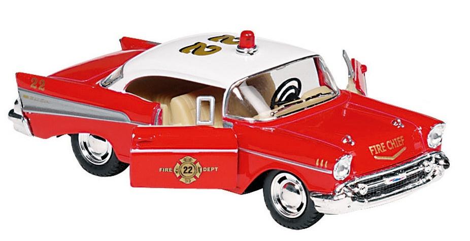Goki Metalen Chevrolet Bel Air (1957) Rood 12,7 cm