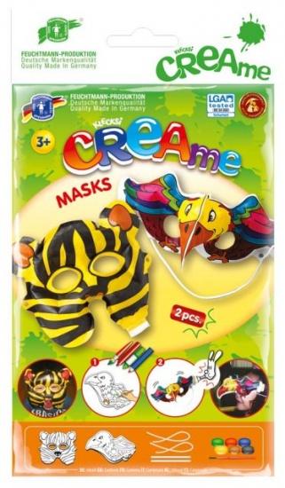 Feuchtmann Klecksi CREAme Masks: Tijger en Vogel