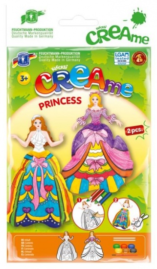 Feuchtmann Klecksi CREAme Princess Wit / Paars