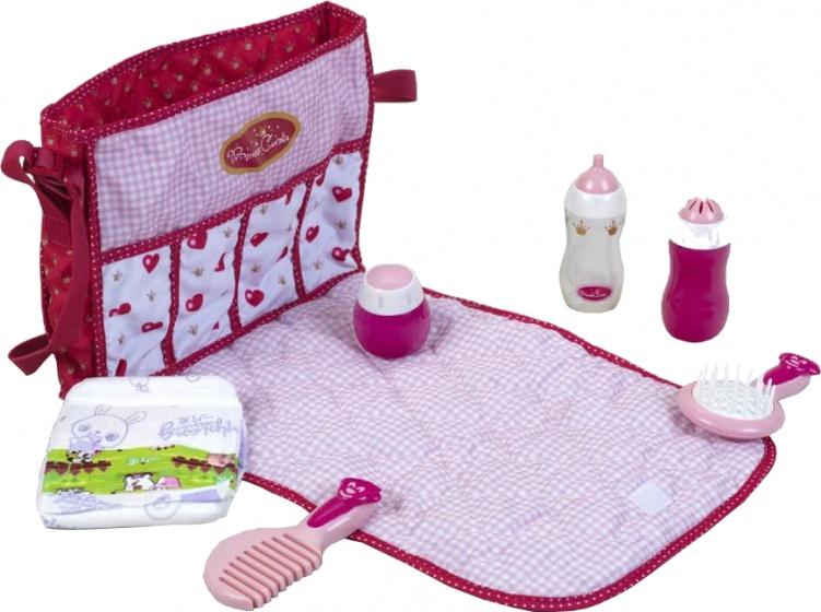 Klein babytas Princess Coralie roze-wit