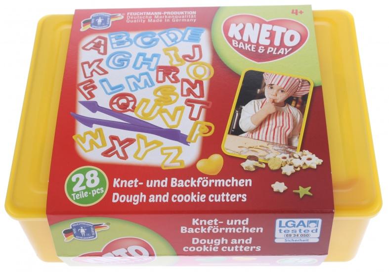 Feuchtmann Kneto Bake & Play ABC Drukvormpjes