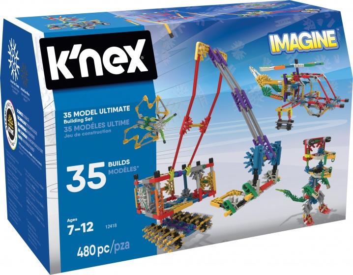 Knex Building Sets Builder Basics 35 Model Set-Refres