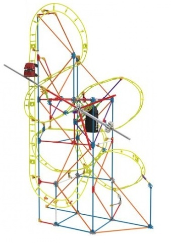 K'NEX Clock Work Roller Coaster