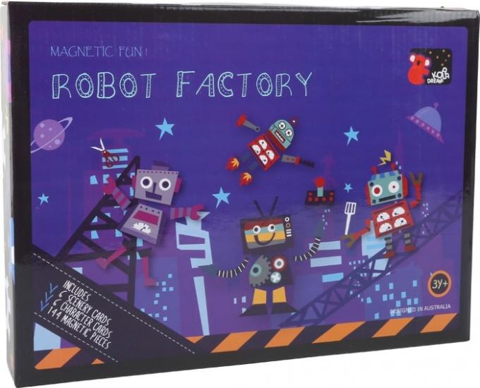 Koala Dream Magneet Puzzel Robot 156 Delig