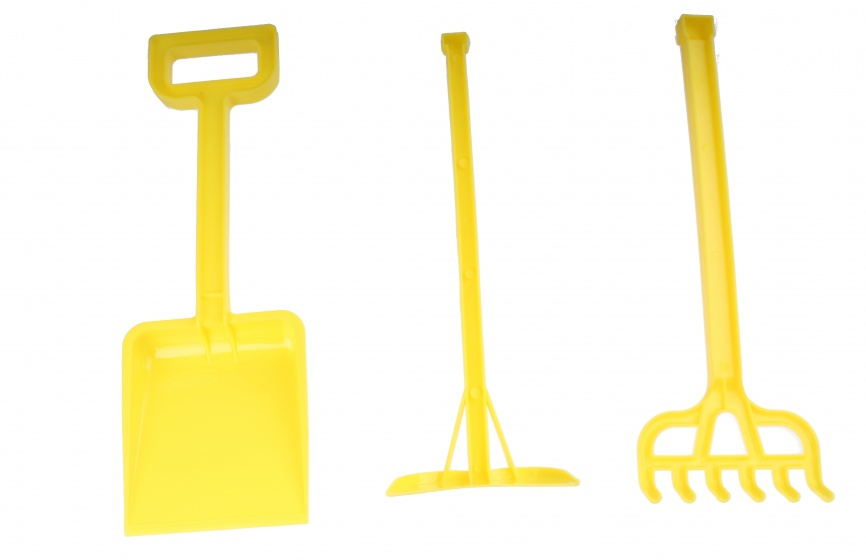 Koopman Strandspeelgoed geel