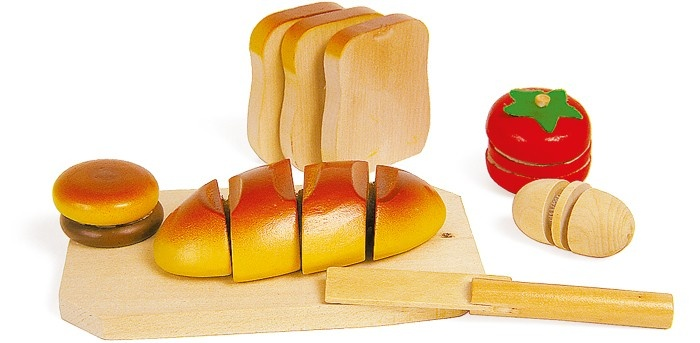 Small Foot Houten Snij Set Brood Met Plank