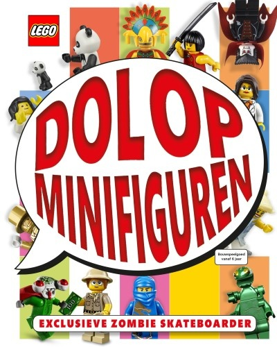 LEGO License boek: dol op minifiguren