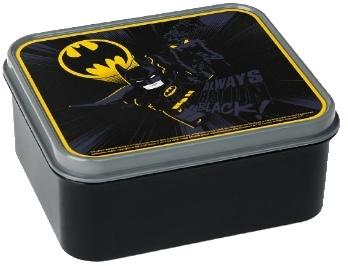 LEGO Batman: broodtrommel zwart 16 x 14 x 6,5 cm