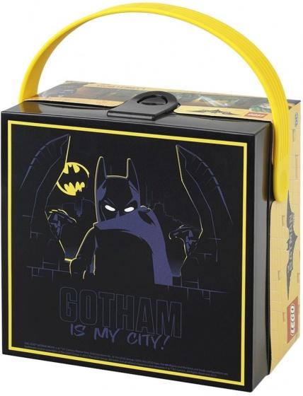 LEGO Batman: broodtrommel zwart 16 x 16 x 10 cm