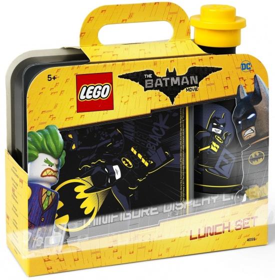 LEGO Batman: lunchset zwart