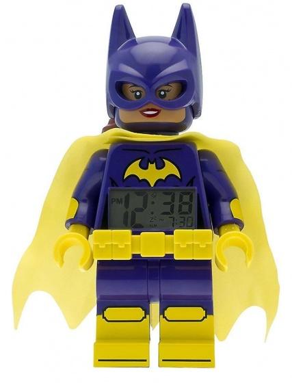 LEGO Batman: Movie Batgirl wekker 23 cm paars/geel