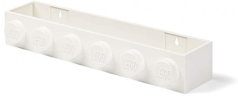 LEGO wandplank 47,8 cm polypropyleen wit