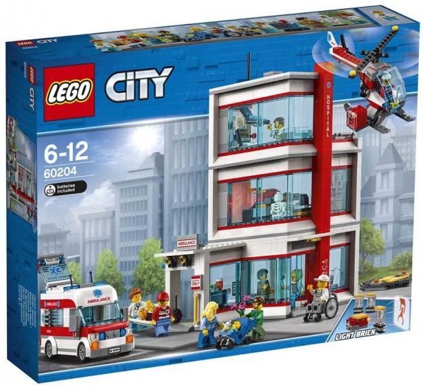 LEGO City: Arctic Ziekenhuis (60204)