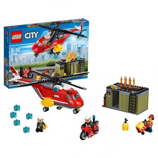 LEGO City: Brandweer inzetgroep (60108)