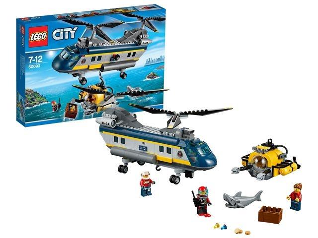 LEGO City: Diepzee Heli (60091)