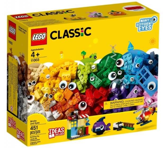 LEGO Classic Stenen en Ogen (11003)
