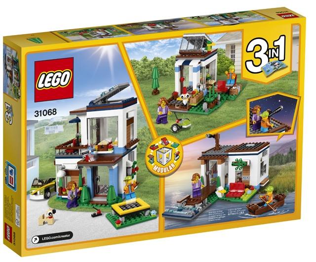 Lego creator modular modern house 31068 internet toys for Lego house original